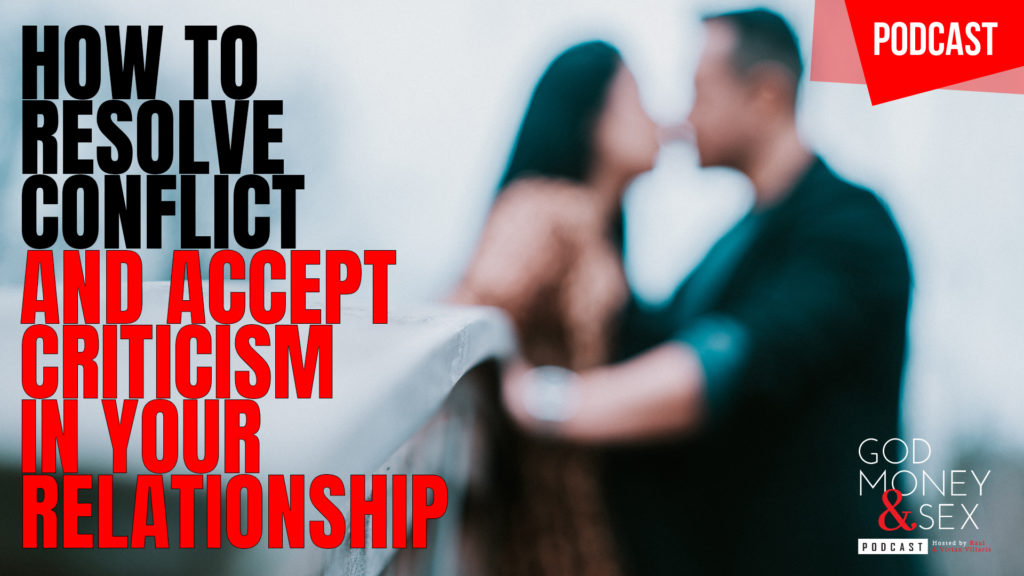How to resolve conflict and accept criticism in