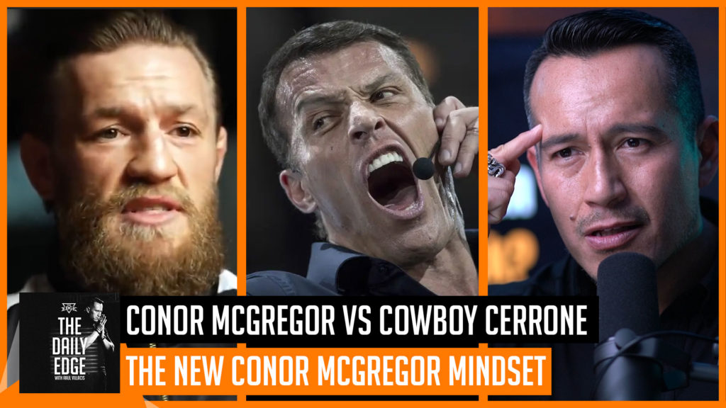 What did Conor McGregor learn from Tony Robbins