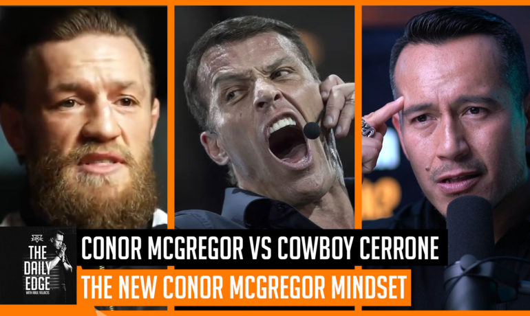 What did Conor McGregor learn from Tony Robbins to strengthen his Emotional Intelligence?