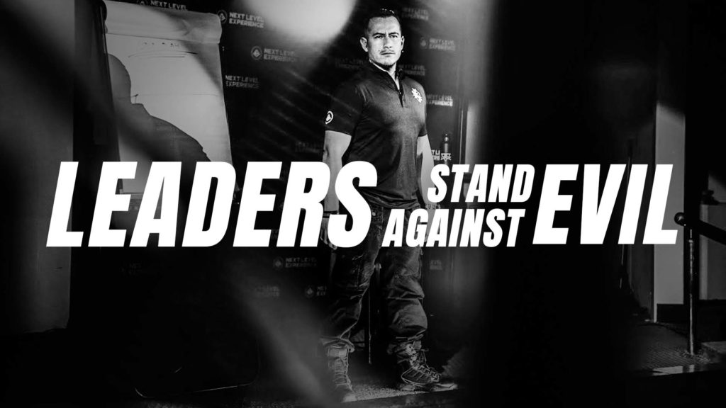 leaders stand against evil