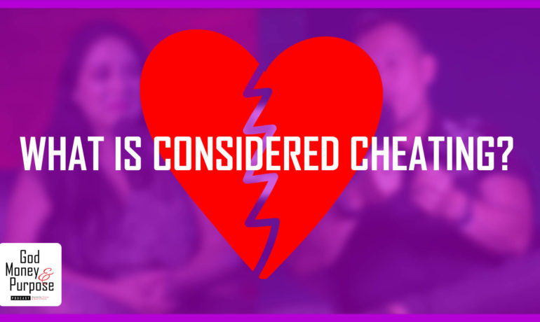 What is considered cheating in a marriage?