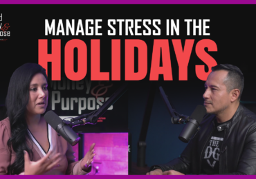 How to manage stress in the holidays.
