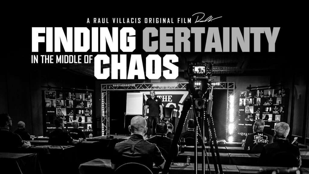 Finding CERTAINTY in the middle of CHAOS (Short