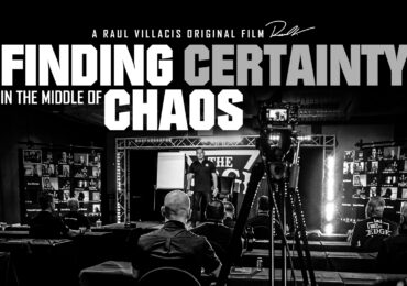 Finding CERTAINTY in the middle of CHAOS (Short Film + Keynote)