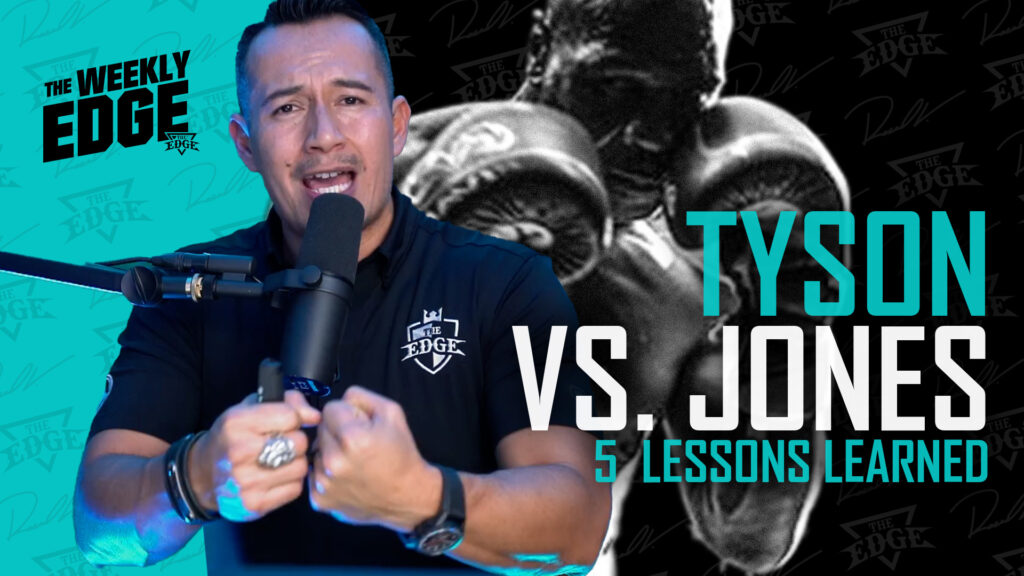 Tyson VS. Jones: 5 Lessons men can learn from