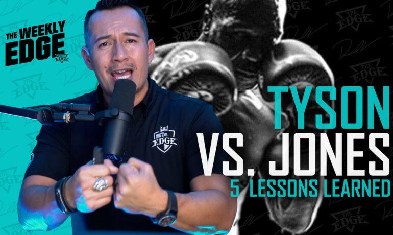 Tyson VS. Jones: 5 Lessons men can learn from Mike Tyson's comeback