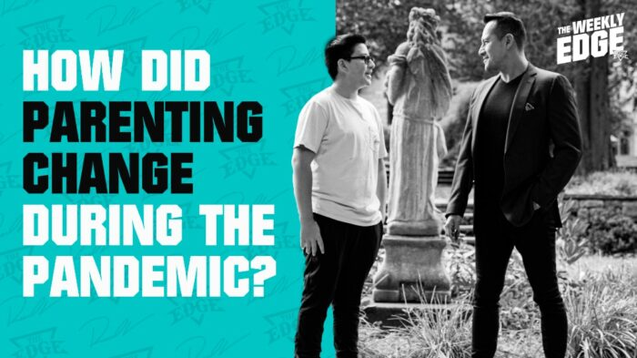 How did parenting change during the pandemic?